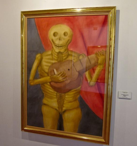 La Muerte Tocando Guitarra